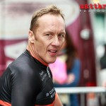 Retired pro footballer Lee Dixon takes part in the IG Gentlemans Time Trial